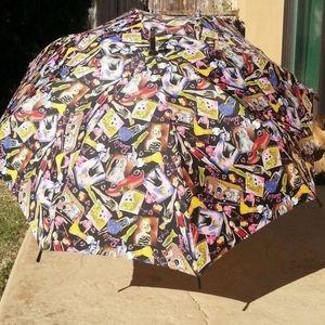 Vintage Nicole Miller barbie inspired umbrella